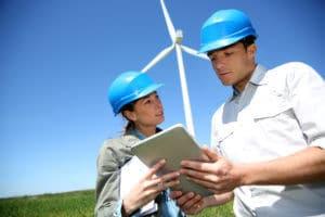Bij Luminus bekijken we graag de mogelijkheden om een windmolen te plaatsen op uw bedrijfsterrein