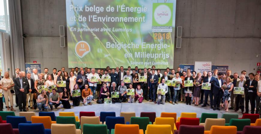 Belgische energie- en milieuprijs 2018